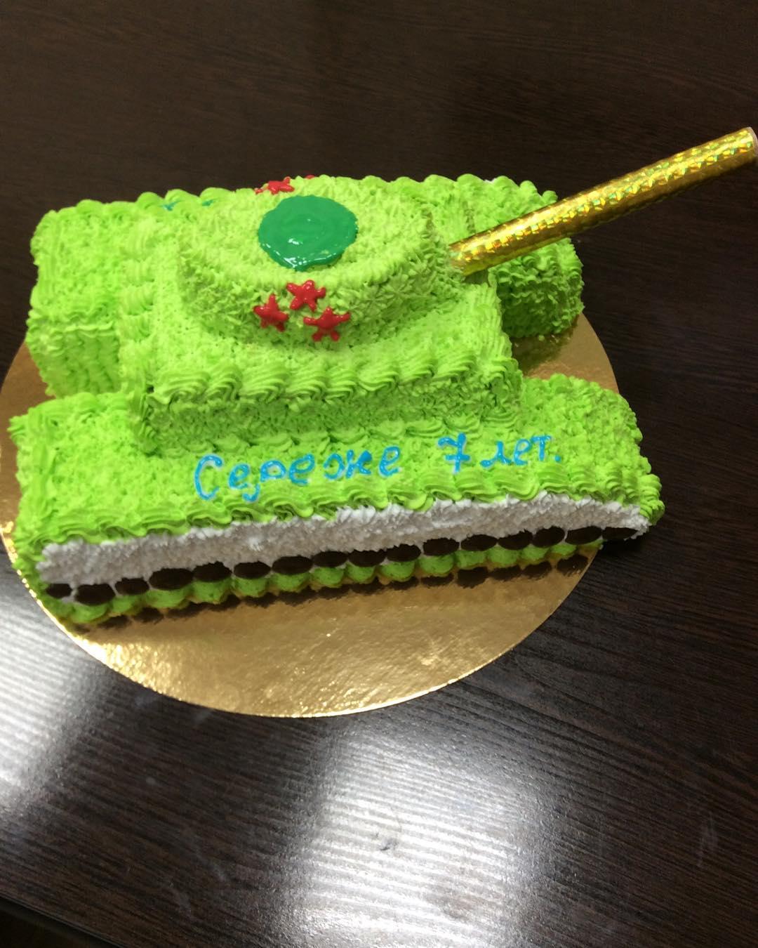 Торт танк кремовый фото что