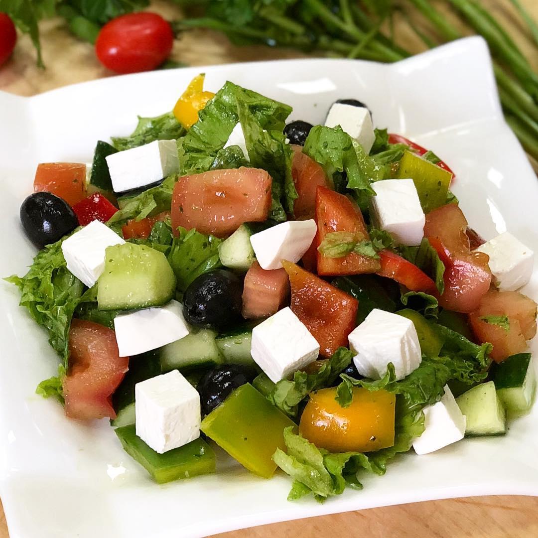 как сделать греческий салат рецепт с фото определённых