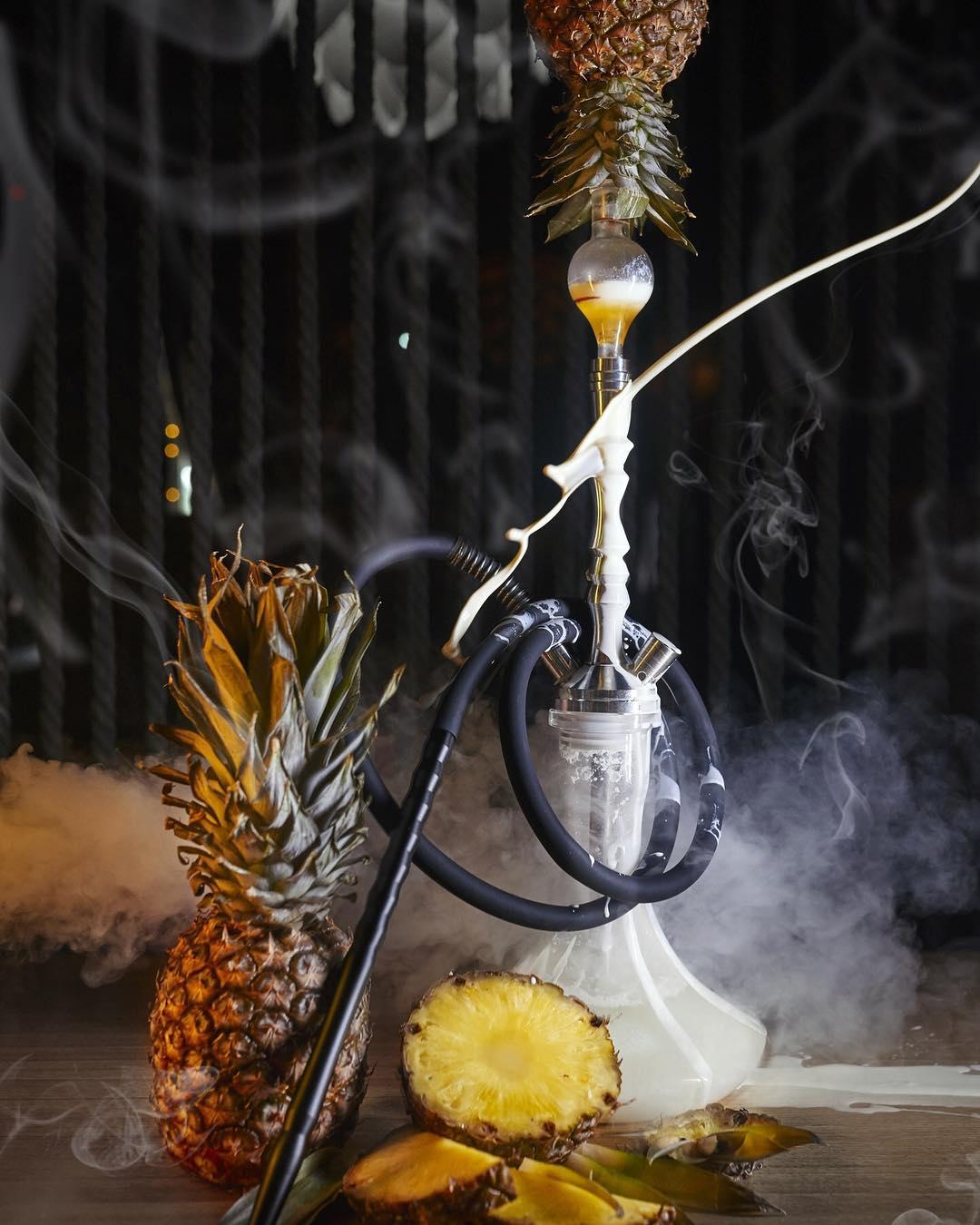 этом фото кальянов с фруктами предлагают устанавливать