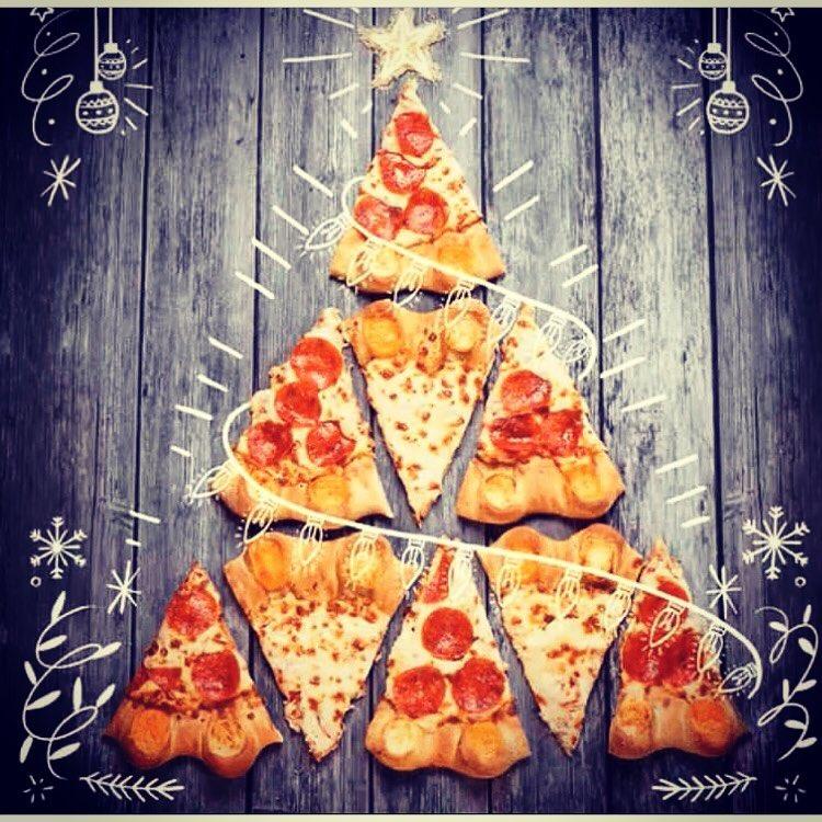Идеи интересных открыток на нг с пиццей