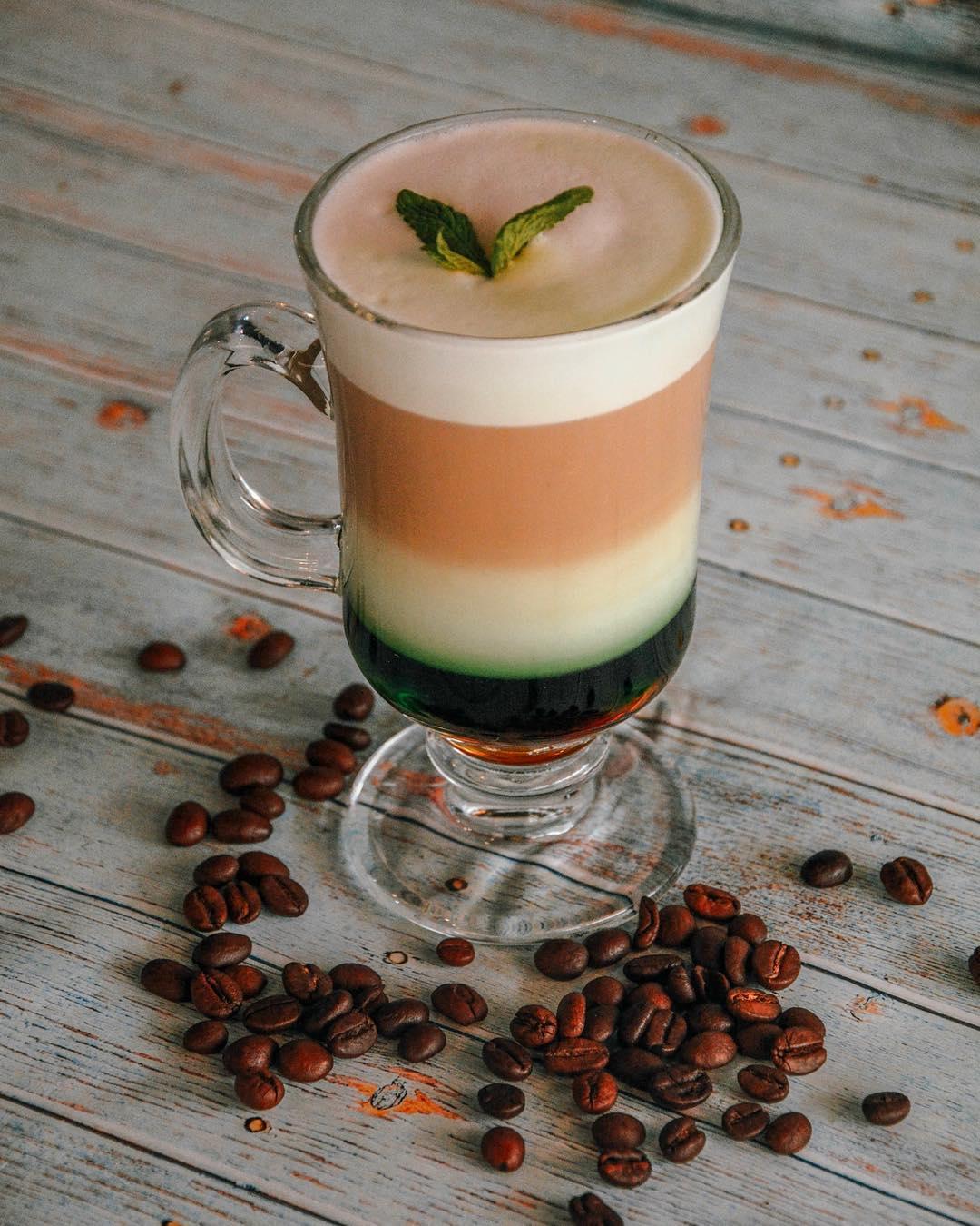 мятный кофе фото объясняет